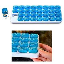 31 Day Monthly Pill Organizer Medication Pod Compartment