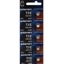 317 Watch battery - Strip of 5 Batteries