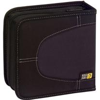 Case Logic - Black 32-CD Nylon Media Wallet