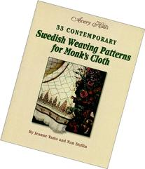 33 Contemporary Swedish Weaving Patterns for Monk's Cloth