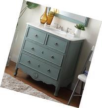 """34"""" Cottage look Daleville Bathroom Sink Vanity - Model"""