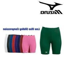 Mizuno 350177 Women's Low Rise Sliding Compression Short -