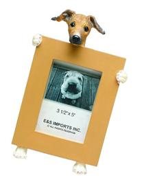 Greyhound Picture Frame Holds Your Favorite 2.5 by 3.5 Inch