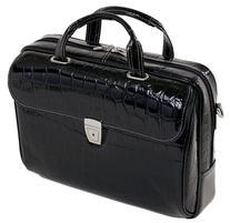 Siamod IGNOTO 35515 Black Leather Large Ladies' Laptop