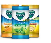 36 Lozenges Vicks Cough Drops Three Mix Varients Viz Menthol
