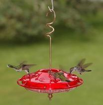 Aspects 381 Hummzinger Fancy Hummingbird Feeder - Rose