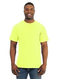 FOL 3930 Adult Heavy Cotton T-Shirt, Safety Green, 5XL