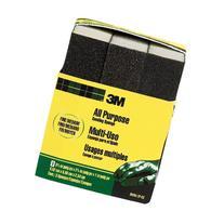 3M Sanding Sponge, Fine/Medium, 3.75-Inch by 2.625-Inch by 1