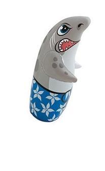 3D Bop Bag Blow Up Inflatable - Shark