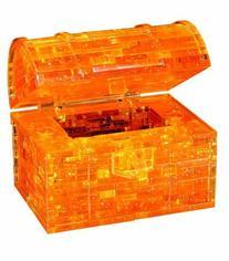 Original 3D Crystal Puzzle - Treasure Chest Gold