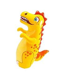 "38"" 3D Dinosaur Animal Big Time Toys Bop Bag  - Blow Up"
