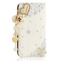 Mavis's Diary 3D Handmade Bling Crystal Love Heart Pendant