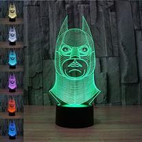 Safrone 3D Optical Illusion Led Night Desk Lamp 7 Colors