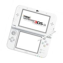 New Nintendo 3DS LL Pearl White