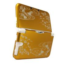 "GAMETECH 3DS XL -WaSaBi- Aluminum Metal Cover ""Goldfish"