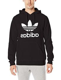 adidas Originals Men's 3Foil Hoodie, X-Large, Black
