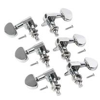 6pcs 3L3R Acoustic Guitar Tuning Pegs Machine Head Tuners