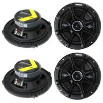 "4) Kicker 41DSC654 D-Series 6.5"" 480 Watt 2-Way 4-Ohm Car"