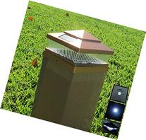 4 Pack Plastic Copper 5x5 inches Outdoor 5 LED 78Lumens