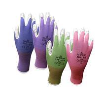 4 Pack Showa Atlas NT370 Atlas Nitrile Garden Gloves - Large