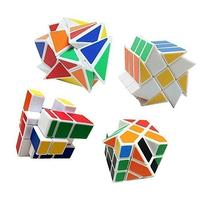 4-Pack YJ Cube Set - Included 3x3 YJ Fluctuation Angle