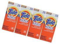 4 Pk, Tide Ultra Plus Bleach Original Scent Powder, 3 Loads
