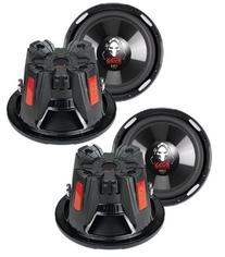 "4) New BOSS AUDIO P126DVC 12"" 9200W Car Power Subwoofers"