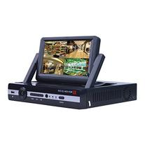 ANRAN 4Ch Home Security DVR With 7 Inch LCD Screen Monitor