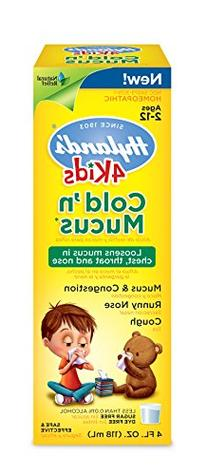 4 Kids Cold N' Mucus Hylands 4 oz Liquid