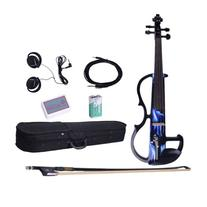 4/4 Electric-acoustic Violin with Case and Accessories for
