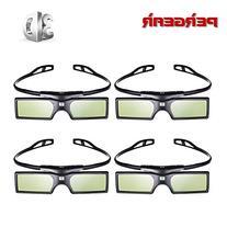 Emgreat 4× G15-DLP 144Hz 3D DLP-LINK Active Glasses For