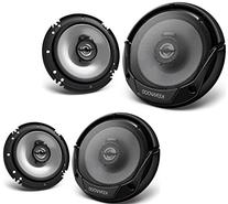 "Kenwood KFC-1665S 6.5"" New 300W 2-Way Car Audio Coaxial"