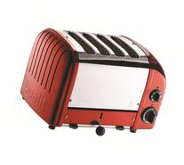 Dualit 4 Slice Classic Toaster, Apple Candy Red