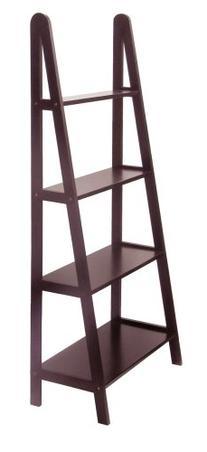 Winsome Wood 4-Tier A-Frame Shelf, Dark Espresso