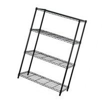 4-Tier Adjustable Steel Wire Metal Shelving Rack - 36 x 14 x
