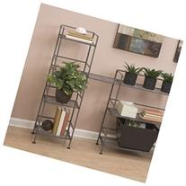 Classics Iron Square Tower 44.25 H Four Shelving Unit
