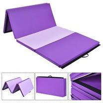 4'x8'x2 Gymnastics Mat Thick Folding Panel Gym Fitness