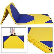 "Giantex 4'x10'x2"" Thick Folding Panel Gymnastics Mat Gym"