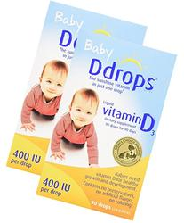 Baby Ddrops® 400 Iu 90 Drops Pack of 2