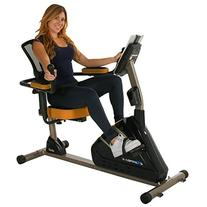 Exerpeutic 4000 Magnetic Recumbent Bike with Bluetooth