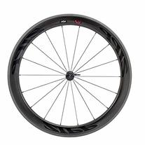 Zipp 404 Firecrest Carbon Clincher Road Wheel Black, Front