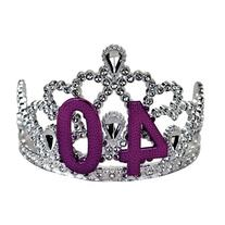 BigMouth Inc 40th Birthday Silver Tiara