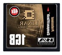 Lexar 1 GB Pro 40X USB CompactFlash