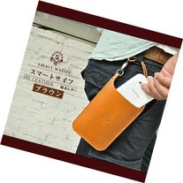 smart wallet / oil leather leather