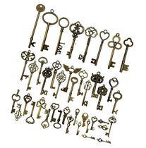 42pcs Mixed Vintage Skeleton Keys, Salome Idea 42 Styles Key