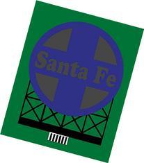 44-0552 Model Santa Fe Model RR Animated Lighted Sign by