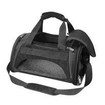 Sherpa 44071 Sport Duffle Pet Carrier, Medium, Black with