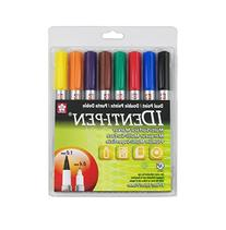 Sakura 44162 8-Piece Identi-Pen Permanent Marker Set,