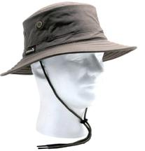 Sloggers 4471DB Classic Cotton Hat with Wind Lanyard Rated