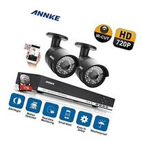 ANNKE 4CH 720P DVR with 2x 1280 720 Hi Resolution